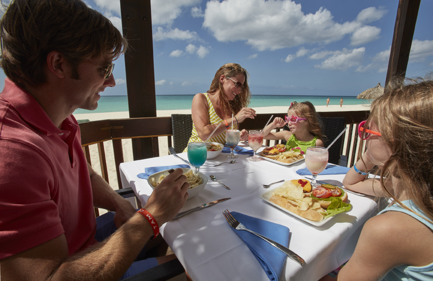 Family Vacations at our Aruba Resort